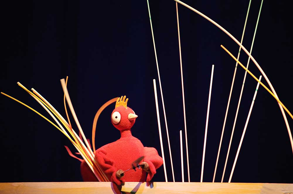 The Little Red Hen - photograph by Graham Burke
