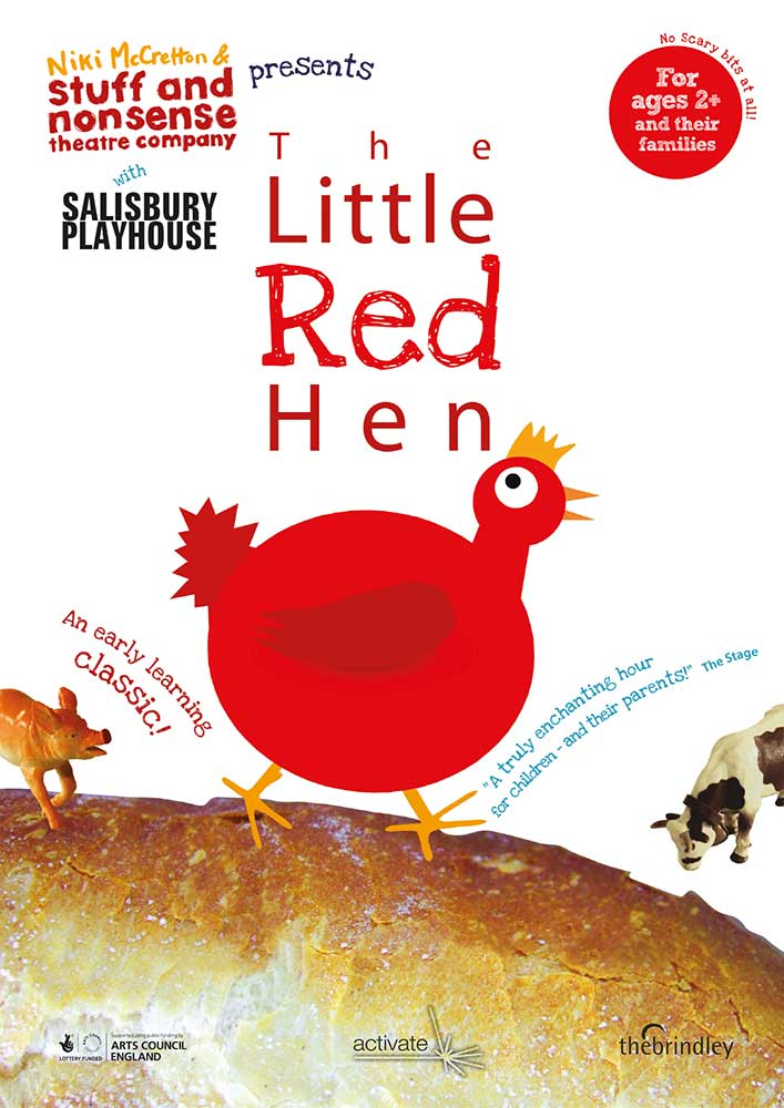 The Little Red Hen by Stuff and Nonsense Theatre Company - production poster