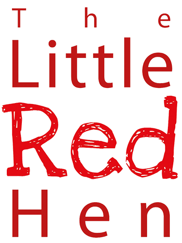 The Little Red Hen text logo