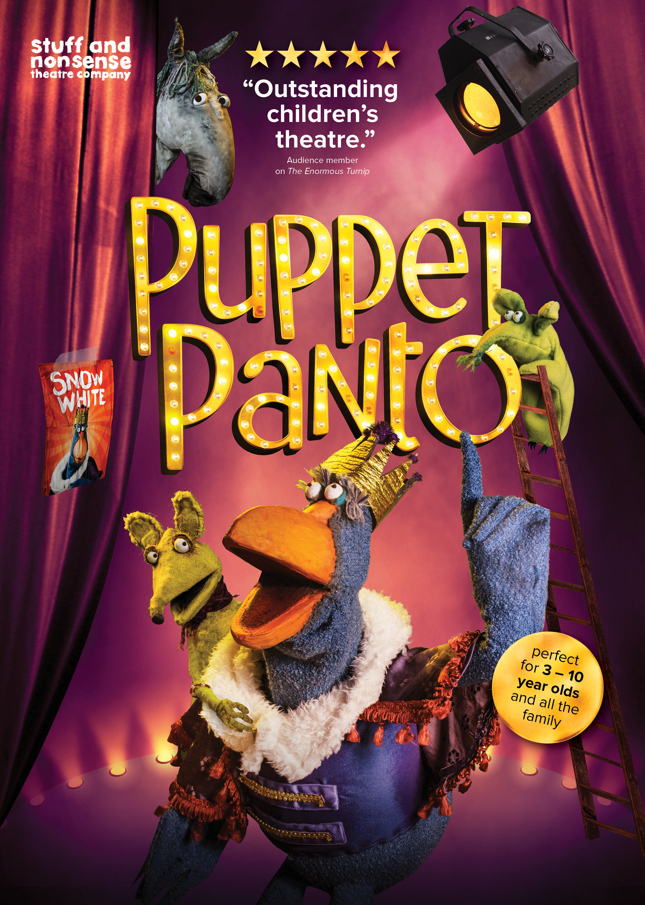 Puppet Panto Revealed