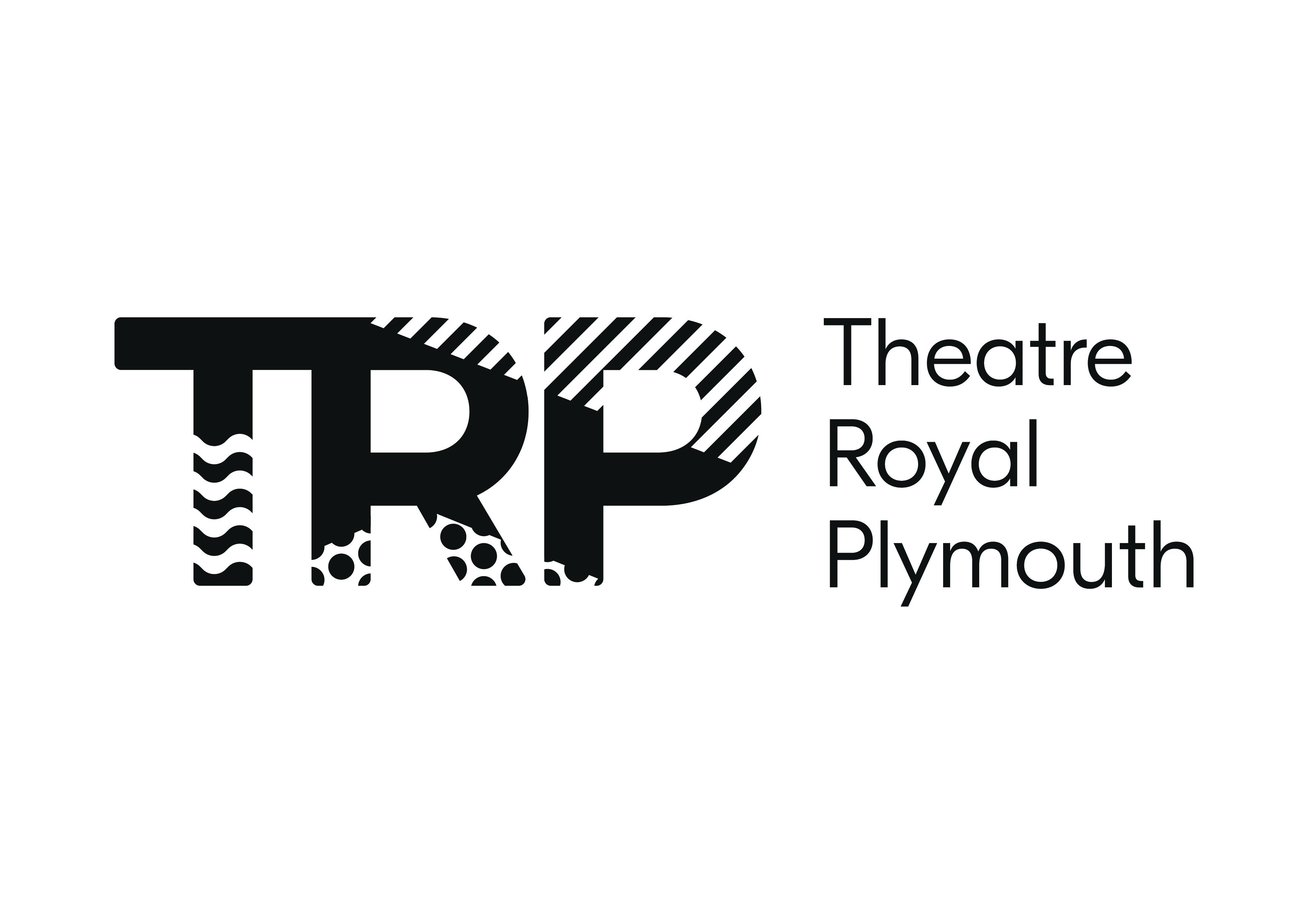 TRP_Logo Master_CMYK_Black