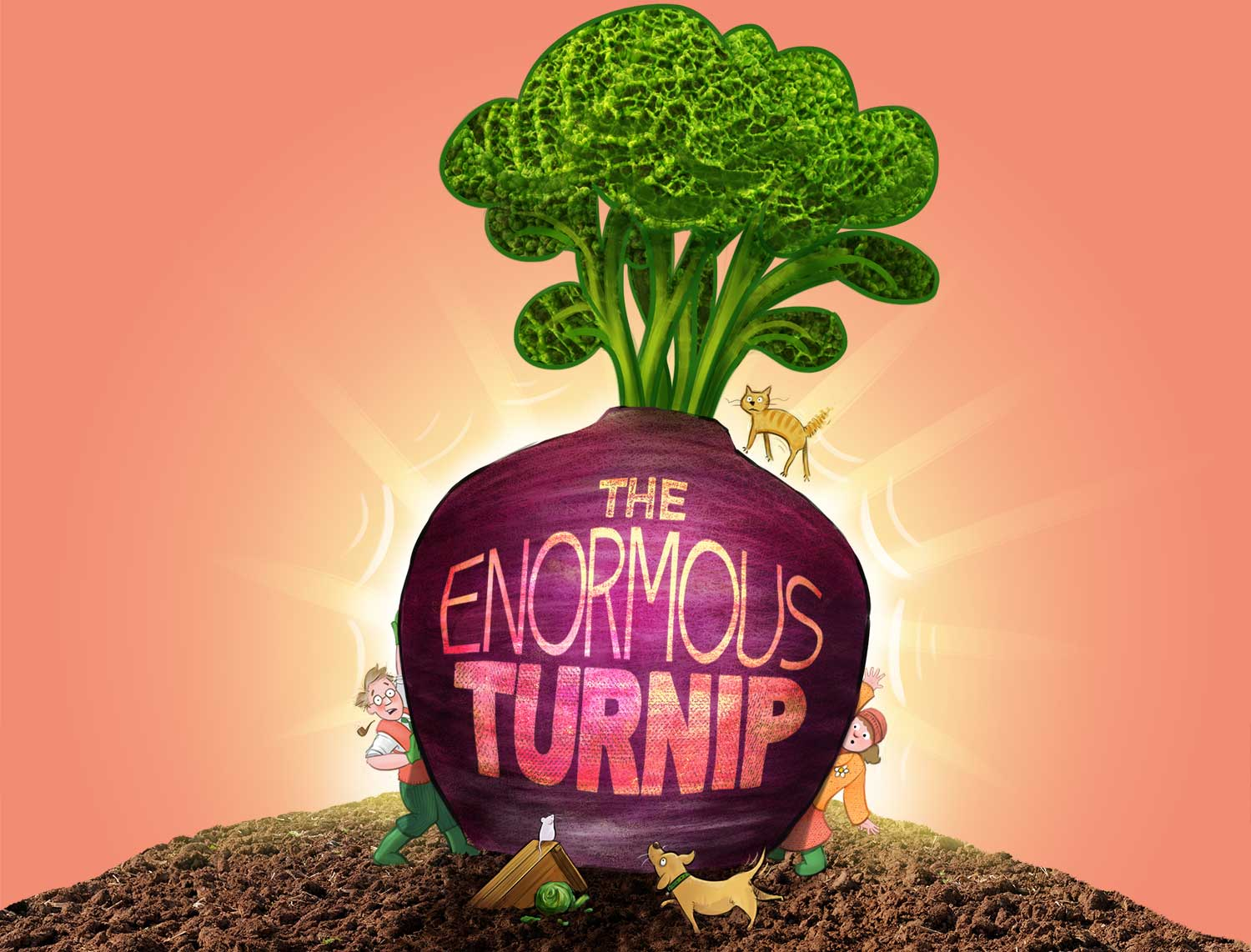 The Enormous Turnip from Stuff and Nonsense Theatre Company