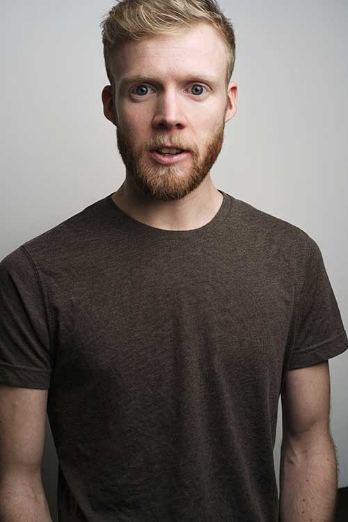 Duncan Taylor - performer for Stuff and Nonsense Theatre Company