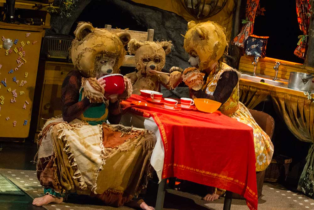 Goldilocks and the 3 Bears - Photograph by Kevin Royal