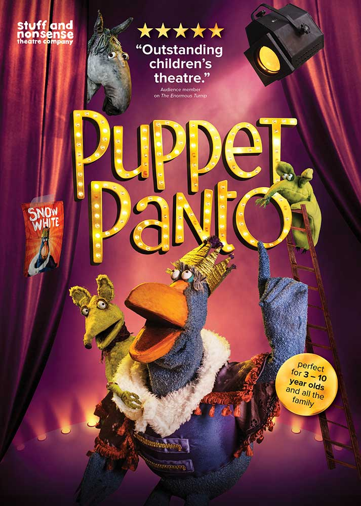 Puppet Panto poster